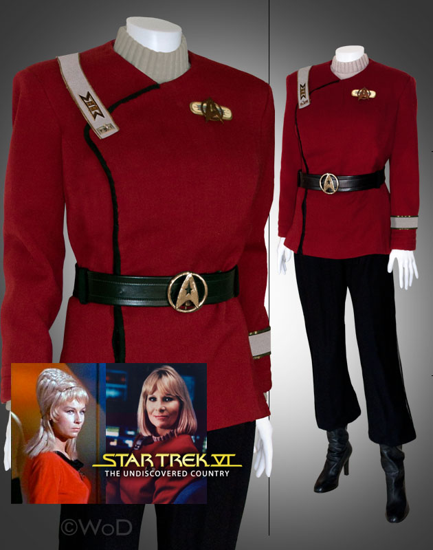 Janice Rand Maroon Uniform