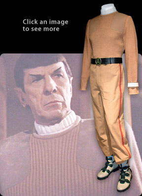 spock's commando uniform