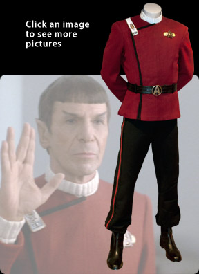 Captain Spock's Class A Maroon Uniform
